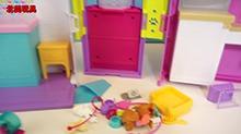<B>小猪</B><B>佩奇</B>的宠物医院医生玩具故事!