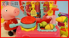 <B>小猪</B><B>佩奇</B>在面包超人商店购物发现奇趣蛋玩具故事!